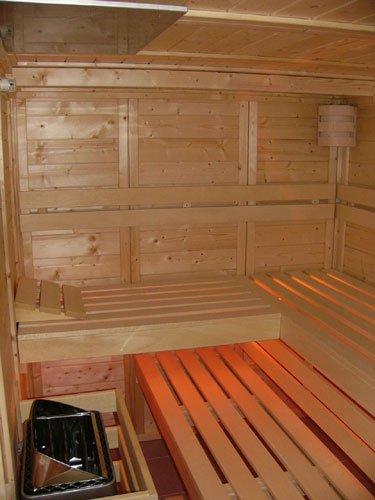 Brandschutzplatte für Sauna unter 1,90 m Höhe