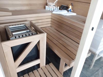 Cristallo-Sauna