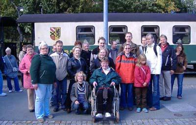 JEMAH Reisegruppe in Oberwiesenthal