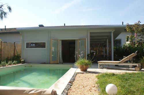 Gartenhaus-Sauna