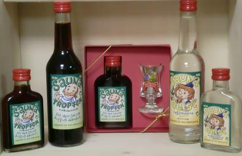 Geschenkpackung-Saunatropfen