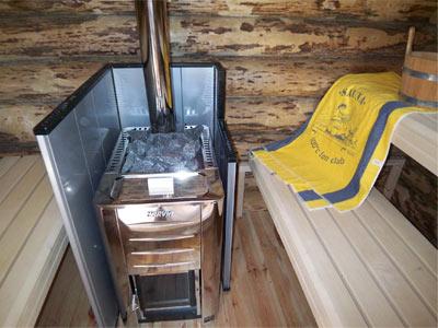 finsterbusch wellness factory news unser prototyp einer rundstamm sauna. Black Bedroom Furniture Sets. Home Design Ideas
