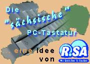 Sächsische PC-Tastatur