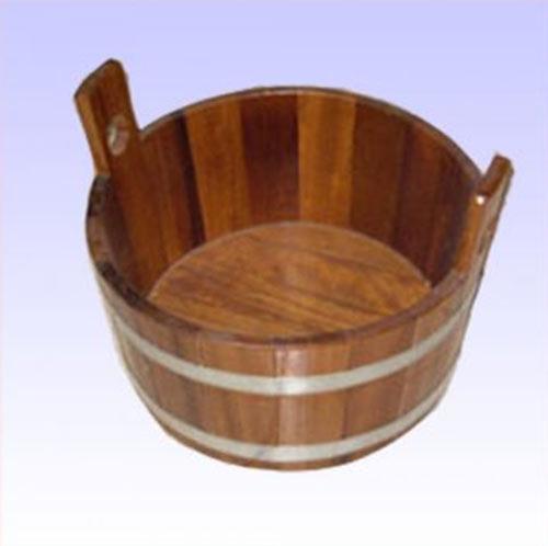 Fußbadekübel für Sauna