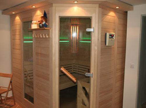 Lichtkranz für Sauna
