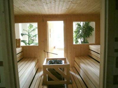 Sauna-Renovierung