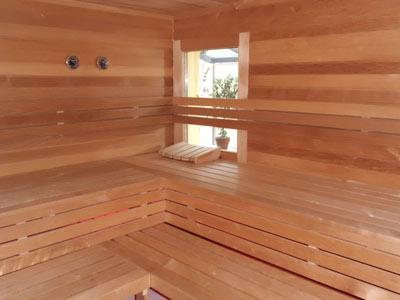 Sauna-Sanierung