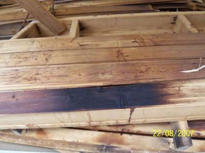 unsanierte Sauna