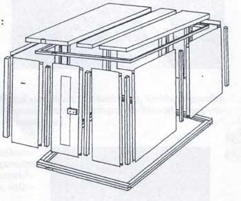 Saunabauweisen Grundriss