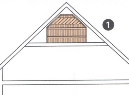 Sauna auf dem Dachboden