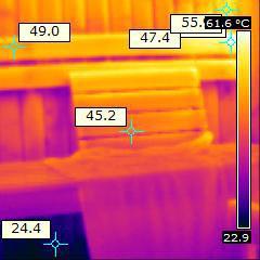 Foto zum Thermografiegutachten