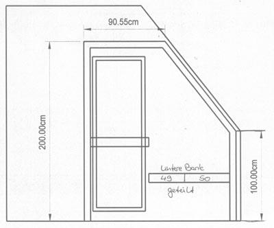 saunabau niedersachsen kundenbeispiel einer finsterbusch. Black Bedroom Furniture Sets. Home Design Ideas