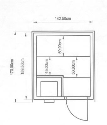 einbausauna berlin kundenbeispiel einer finsterbusch. Black Bedroom Furniture Sets. Home Design Ideas
