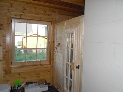 einbausauna berlin kundenbeispiel einer finsterbusch einbau sauna. Black Bedroom Furniture Sets. Home Design Ideas
