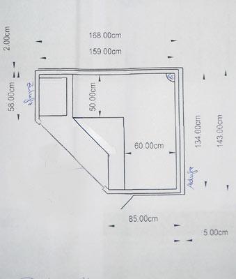 einbausauna braunschweig finsterbusch kundenbeispiel. Black Bedroom Furniture Sets. Home Design Ideas