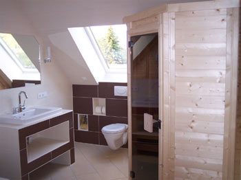 sauna foto der familie ehlert. Black Bedroom Furniture Sets. Home Design Ideas