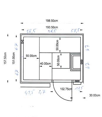 einbausauna suhl kundenbeispiel einer finsterbusch. Black Bedroom Furniture Sets. Home Design Ideas