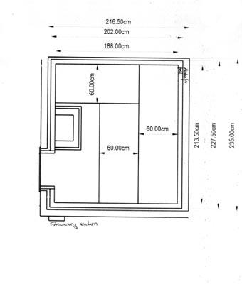 einbausauna niedersachsen kundenbeispiel einer. Black Bedroom Furniture Sets. Home Design Ideas
