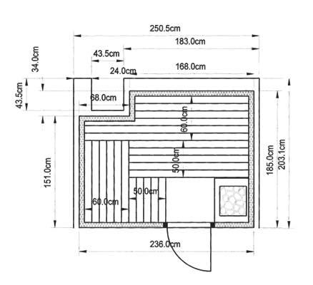 saunabau nrw kundenbeispiel einer finsterbusch sauna. Black Bedroom Furniture Sets. Home Design Ideas