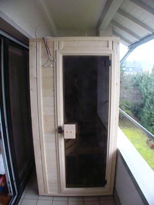 saunahersteller hessen kundenbeispiel einer finsterbusch sauna. Black Bedroom Furniture Sets. Home Design Ideas