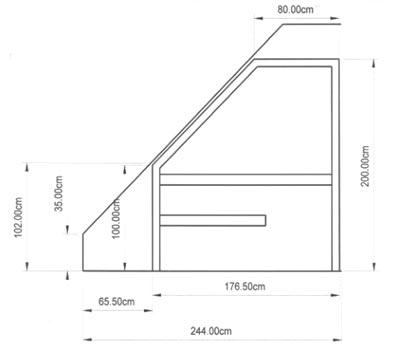 einbausauna hessen kundenbeispiel einer finsterbusch. Black Bedroom Furniture Sets. Home Design Ideas