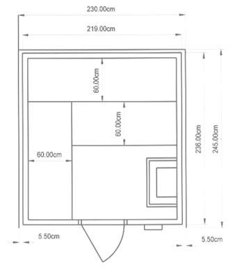 einbausauna chemnitz kundenbeispiel einer finsterbusch. Black Bedroom Furniture Sets. Home Design Ideas