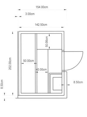 individuelle sauna dresden kundenbeispiel einer ganz individuellen finsterbusch einbausauna. Black Bedroom Furniture Sets. Home Design Ideas