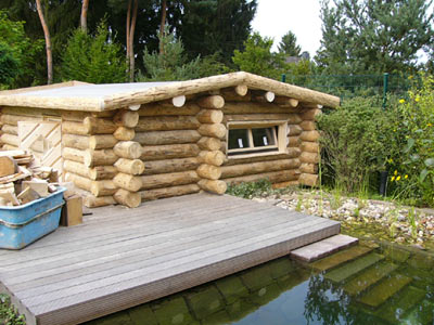 saunabau d sseldorf die erdsauna der familie neubert. Black Bedroom Furniture Sets. Home Design Ideas