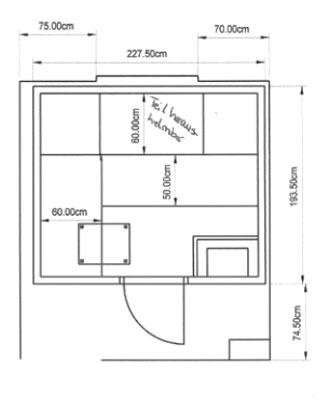 einbausauna bremenn kundenbeispiel einer finsterbusch. Black Bedroom Furniture Sets. Home Design Ideas