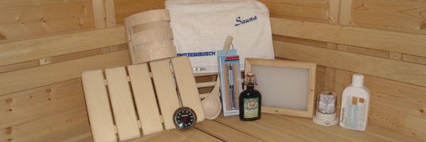 Sauna-Inneneinrichtung